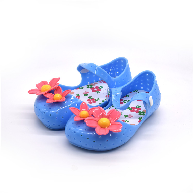 Hot Sale Cheap Price Plastic Jelly Sandal Kids PVC Sandal Lovely Kids Neoprene Gardening Sandal