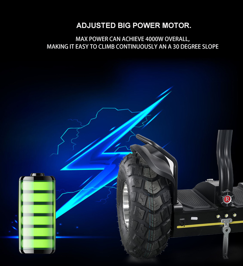 2019 fashion 19 inch fat tire two wheel electric chariot,golf electric scooters