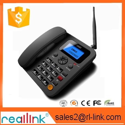 new products 2016 gsm fixed wireless desktop phone / landline phone with sim card fast delivery