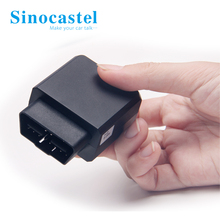 3G OBD Vehicle GPS Tracker Support J1939 AND J1708 Protocol Produced From SINOCASTEL CO.,LTD