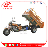 China Three Wheel Motorcycle Kavaki Motor Tricycle For Sale 250CC Automatic Motorcycle