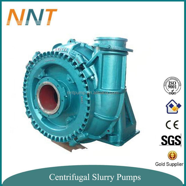 Abrasion Resistant Material Casting Iron Sand and Gravel Pump