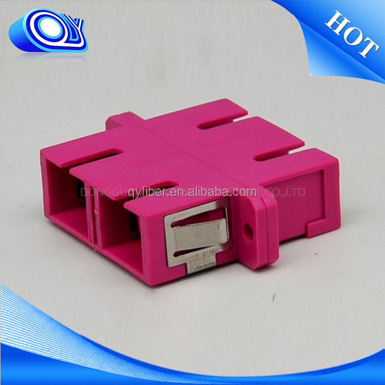 Widely used superior quality wholesale single mode e2000 fiber optical adapter