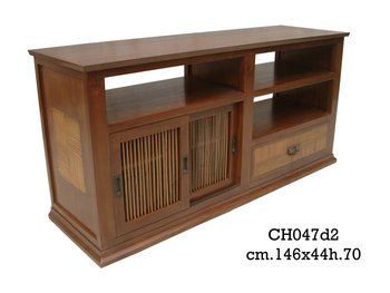 Buffet TV wood minimalis