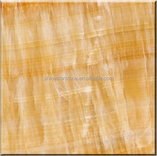 2017 hot sale polished Chinese yellow onyx marble for coffee table