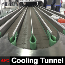 Quick Changeover And Cleaning Newest Process Technology Multifunction lines production Cooling Tunnel For Production Line
