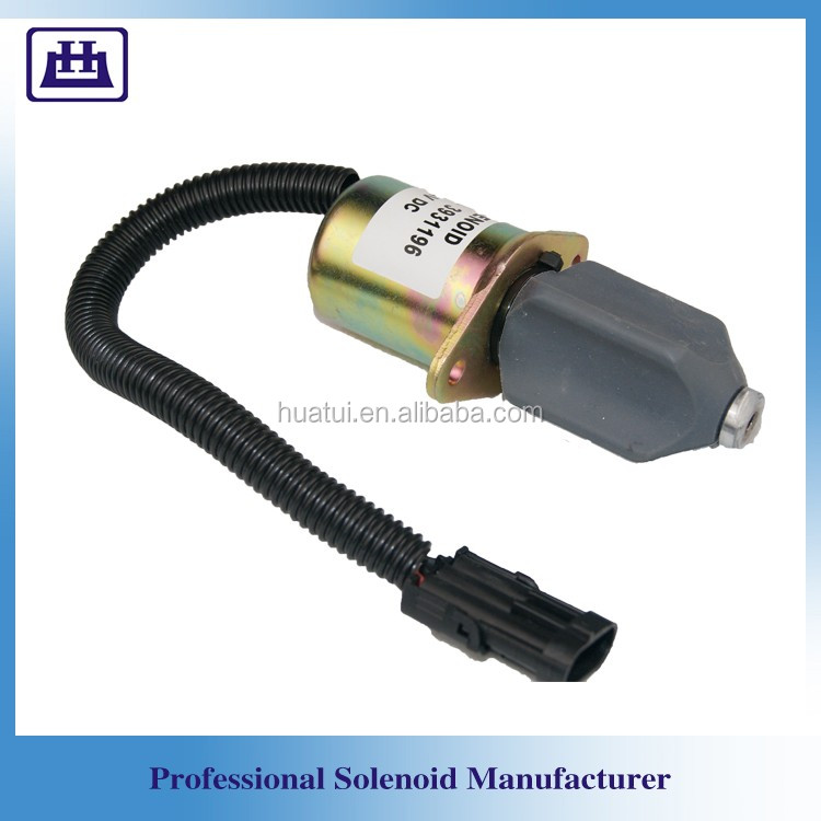 Diesel engine fuel shut off control solenoid for Series 4HP 3931196