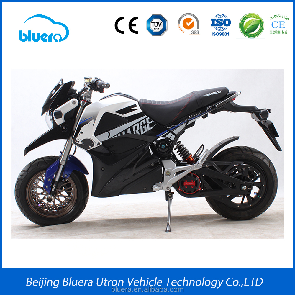 2017 Best adult 72V 2000W electric motorbike for sale