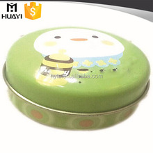 wholesale empty metal lip balm container