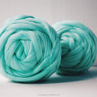 Super Chunky Merino Wool Yarn Top