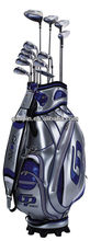 QD-80149-R1 leather golf bag