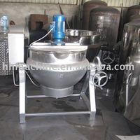 Full-automatic vacuum inflating stirring sugar-cooker