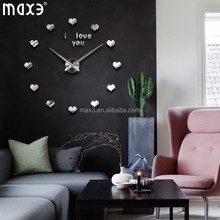 large 3d digital wall clock with certification standard from chinese supplier