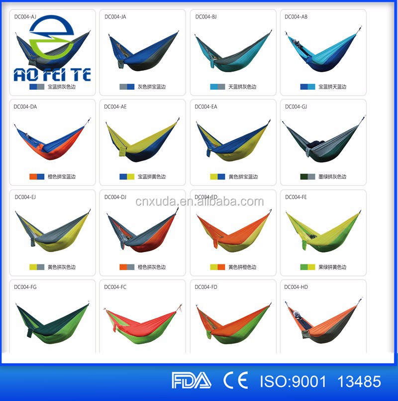 Hot sale 2017 hammock single and double parachute outdoor hammock for camping.jpg