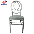 2018 XYM fashionable dining room aluminum ghost phoenix chairs
