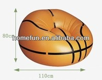 2013 outdoor/indoor fashion round style - inflatable soccer ball sofa chair
