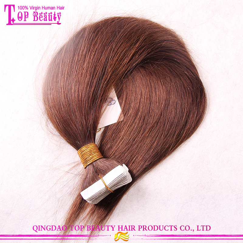 Highest Quality Human Hair Skin Weft 8-30 inch Remy Tape Hair Extension