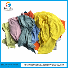 Color oil absorbing cleaning sheets 10kg bale of rag