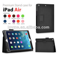 Folio Folding Slim PU Leather Stand Case Cover For APPLE iPAD AIR 5 5TH+ FILM