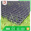 Anti-Slip Safety Drain Rubber Grass Floor Mat