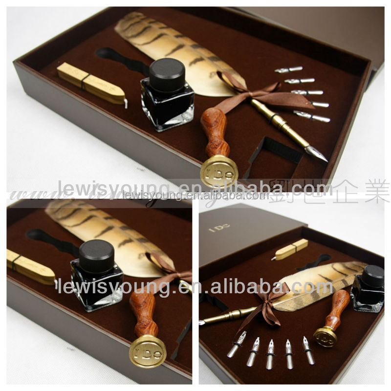 Newest promotional gift items for business/coporate /personal /Souvenir sealing wax and stamp set
