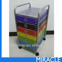 6 Drawers Storage Rolling Cart Organizer