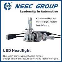 NSSC motorcycle h4 cree led headlight with high lumen