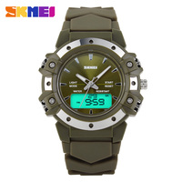Calendar hand clock waterproof watch with great face
