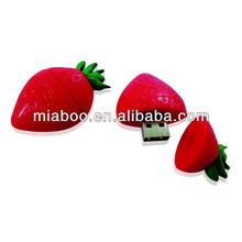 Personalized design strawberry usb, strawberry usb stick, strawberry usb flash memory/disk 2.0