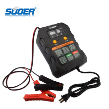 Suoer Fully Automatic Manual Operation Intelligent 12V 24V Solar Car Battery Charger