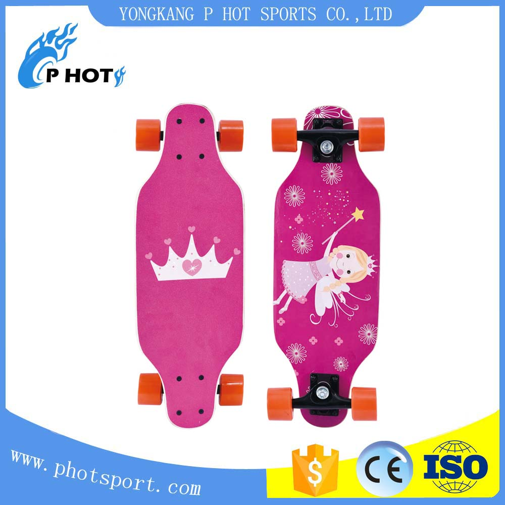 best selling 4 wheels custom skate board longboard custom tech decks
