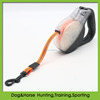 retractable adjustable reflective TPU pet dog leash with plastic handle body