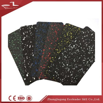 Various Pigmented & EPDM colour Gym Rubber Flooring Roll Mat