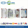 CE ISO orthopaedic implants manufacturer orthopedic spinal fixation system