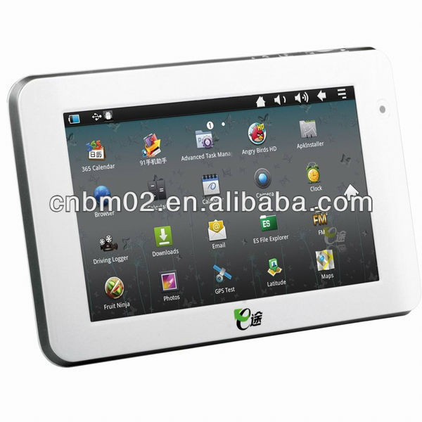 7 Android 3G GPS Navigator with Wifi, Bluetooth, DDR3 512MB RAM, Built-in 8G