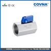 CF8M mini ball valve 3/8 inch stainless steel mini ball valve plastic mini ball float valve drawing