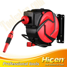 Auto Retractable Water Hose Reel for Vehicle