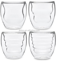 b2b import export double layered Thermo glass tumblers for chai tea