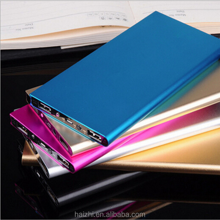 slim power bank 20000 mah 30000mah 50000mah portable battery