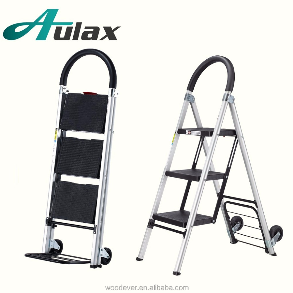 Wholesale convertible household stair aluminum folding ladder