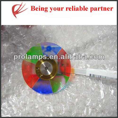 44mm diameter with 6 color segments color wheel for optoma projectors