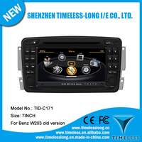 2 din Car Audio for Benz C class W203 2000-2004 with built-in GPS A8 chipset RDS BT 3G/Wifi DSP Radio 20 dics momery(TID-C171)
