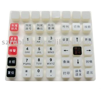 Soft & Durable Silicone Button for Air Conditioner