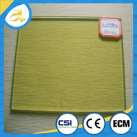 cost of laminated glass weight with PVB film