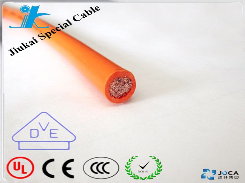 Selling well fire retardant TPE flex car batter cable gasoline resistant