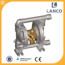 Lanco brand High Quality QBY air operated double Pneumatic Diaphragm diluted hydrochloric acid pump