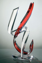 wholesale clear acrylic trophy design