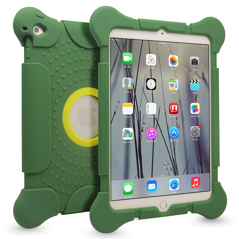 New Arrival 100% Perfect Fit For iPad Cover,Soft Silicone Tablet Case for iPad 2 3 4