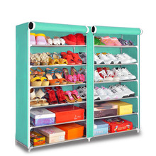 Space Free Standing Tier Closet Shelf Shoe Rack Bench