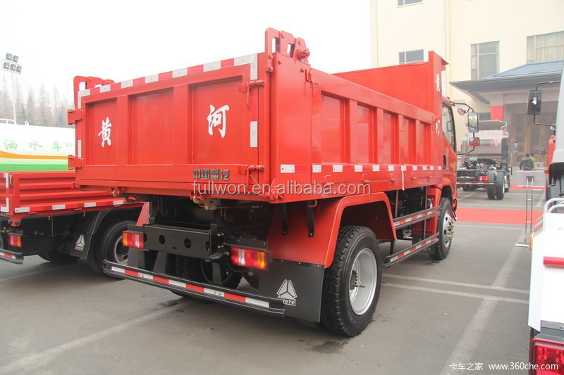 sinotruk 6 wheel mini 3 ton used dump truck sale